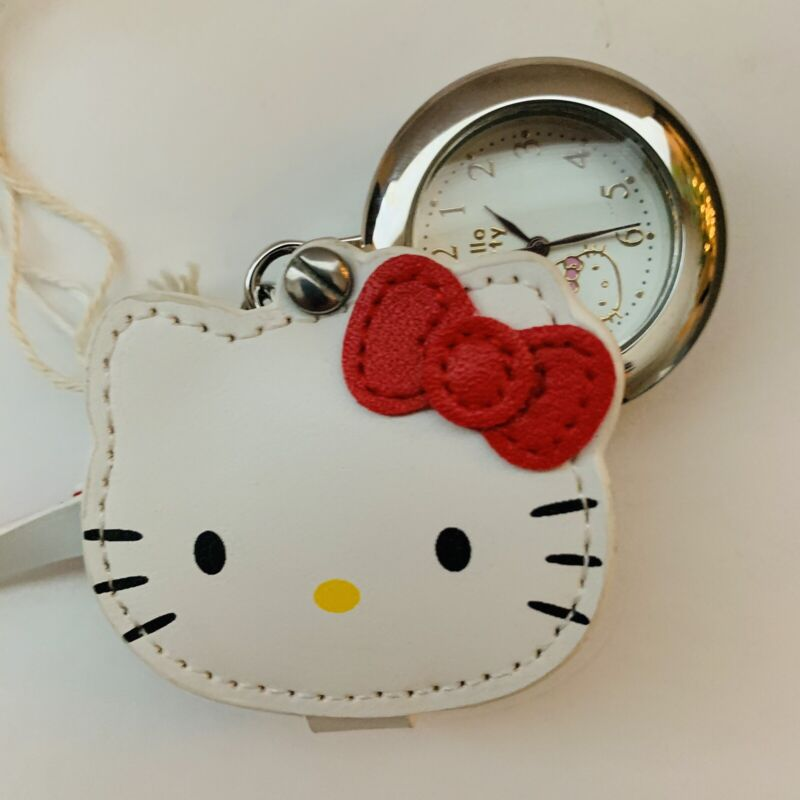 Hello Kitty J-AXIS Loupe Cover Watch RARE Limited Sanrio Japan Item