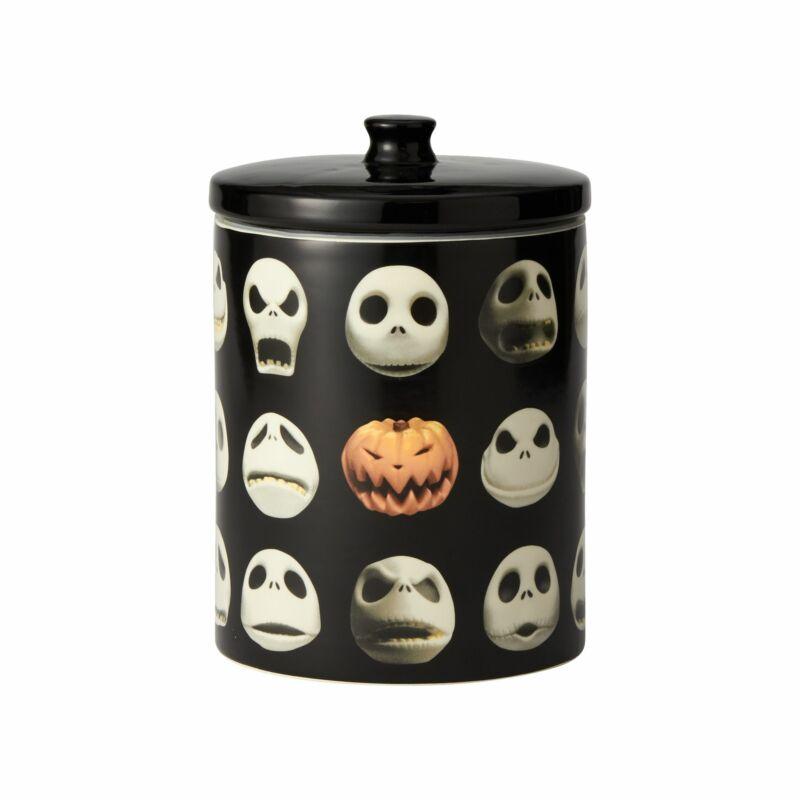 Enesco Disney Ceramics Nightmare Before Christmas Jack Skellington Cookie Jar