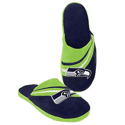 NFL Football 2013 Big Logo Team Slide Shoe Slippers - New! - Pick Your Team!