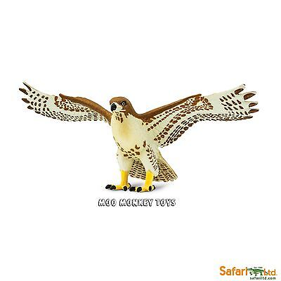 RED TAILED HAWK  Safari Ltd 151029 Wings of The World Bird of prey      NEW 2017