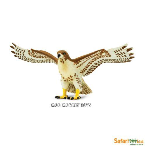 RED TAILED HAWK  Safari Ltd 151029 Wings of The World Bird of prey      NEW 2017
