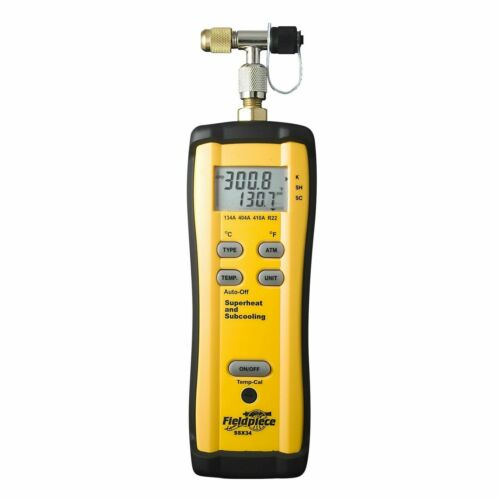 Fieldpiece SSX34 Superheat and Subcooling A/C & Refrigeration Meter