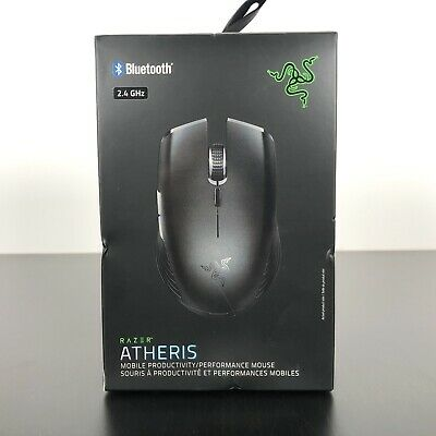 Razer Atheris Mobile Gaming Mouse - True 7,200 DPI Optical Sensor - NEW SEALED