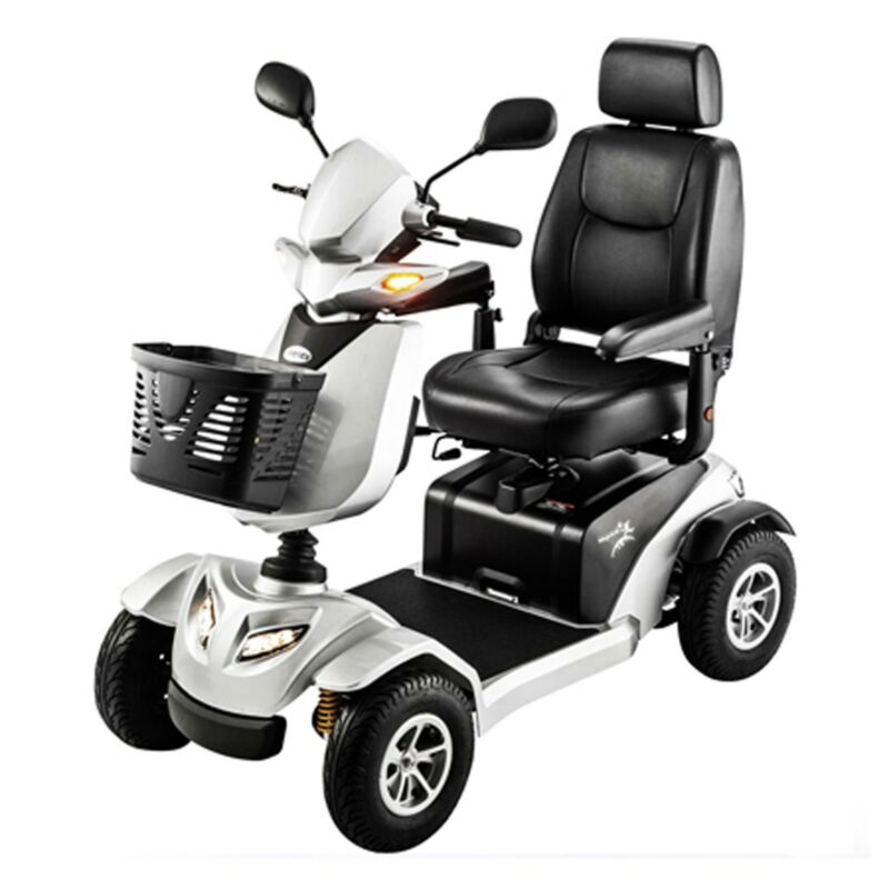 New Silverado 4 Wheel Power Scooter With 75ah, Many Features, Full Suspension