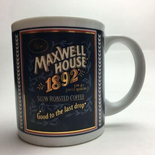 Vintage Maxwell House Coffee Mug 1892 The Tin Box Company