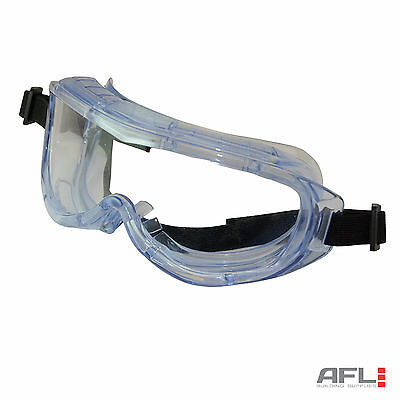 Panoramic Safety Goggles - Lightweight Impact & Scratch Resistant Clear Lens