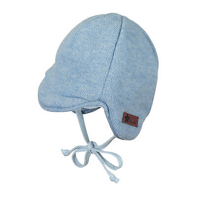 Sterntaler Baby Jungen Wintermütze Gr. 35-45 Schirmmütze mit Plüschfellfutter