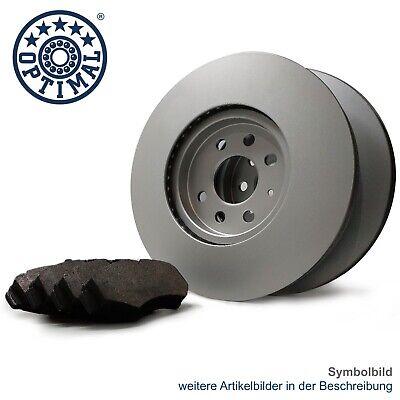 OPTIMAL Bremsscheiben Set + Beläge C8ZHP vorne 375mm für MERCEDES GLE W166 GLS