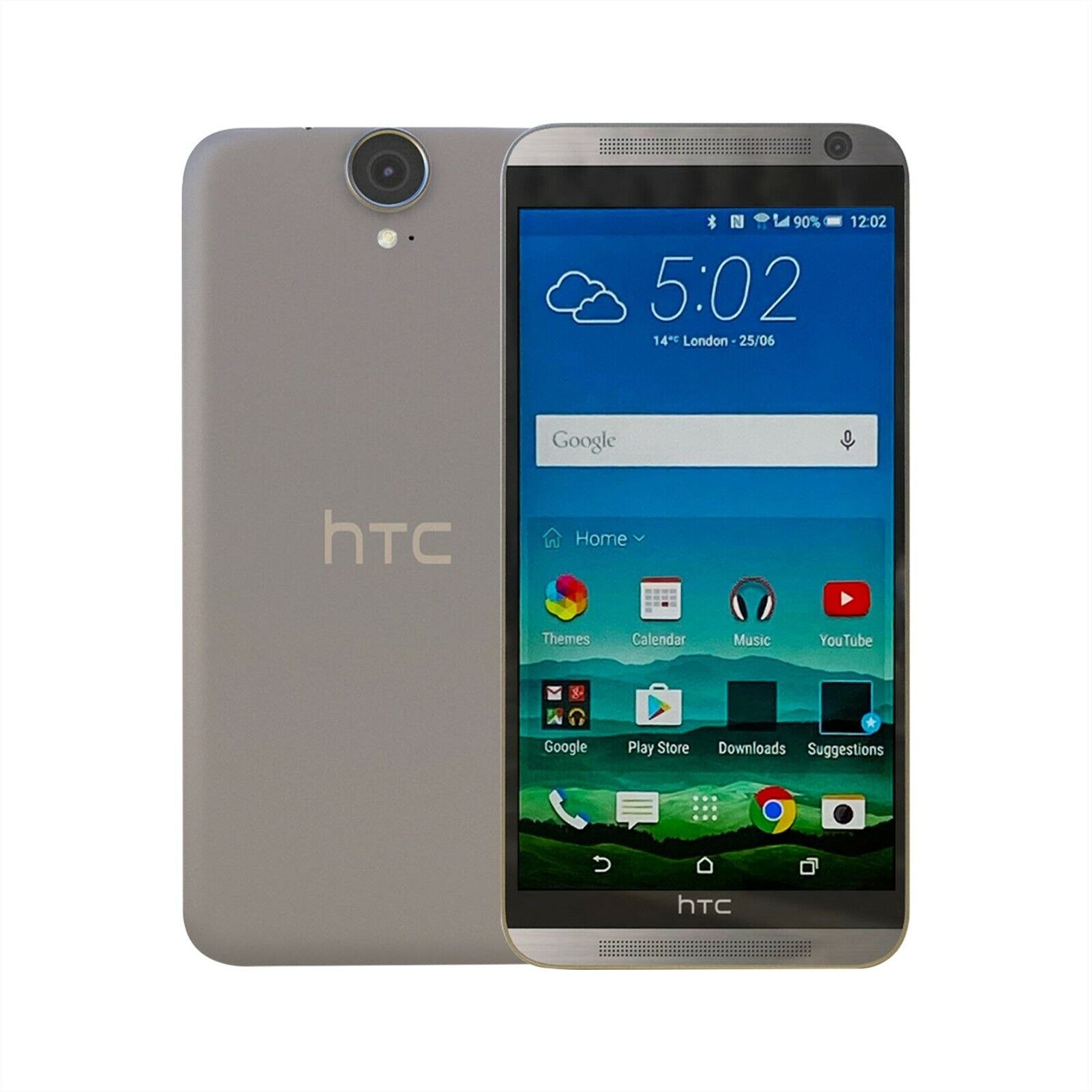 Android Phone - Unlocked HTC One E9+ E9 Plus Dual Android Smart Mobile Phone 32GB White SIM FREE