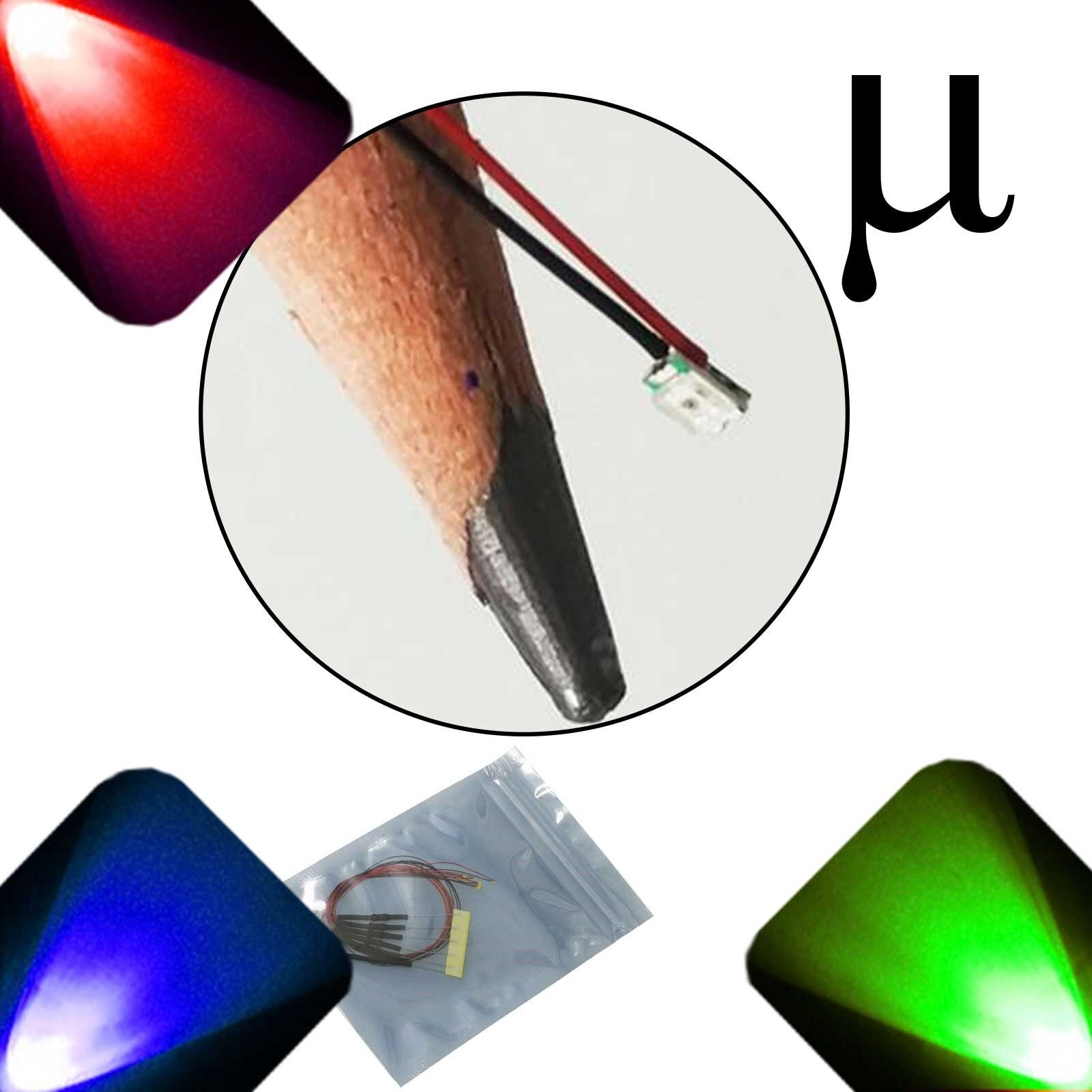10 x 0807 0805 SMD RGB Slow Changing Ultra Bright LED Light Fading Green Light