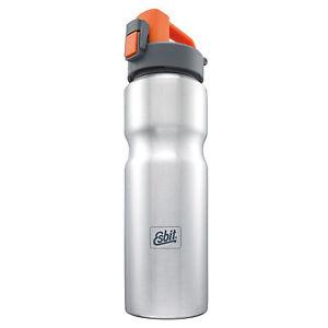 ESBIT Trinkflasche 0,8 Liter Edelstahl Fahrradflasche Sportflasche Wasserflasche
