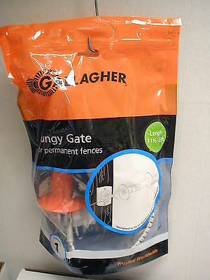 Gallagher - Bungy Gate - For Permanent Fences - 11 12 - 23 Ft - Brand New