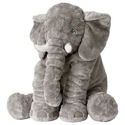 New IKEA JATTESTOR Large Jumbo Elephant Stuffed Animal Plush Soft Toy FREE SHIP
