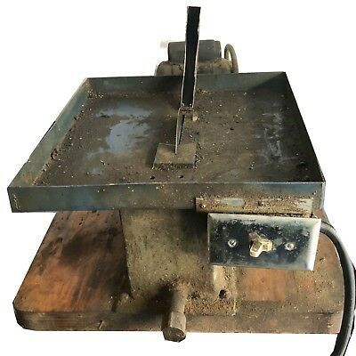 LAPIDARY SAW, ROCK SAW, SLAB SAW USED WORKING , u