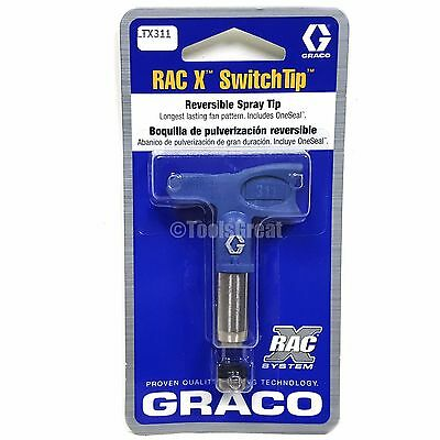 Graco Rac X Switchtip Ltx311 Latex Paint Spray Tip 311