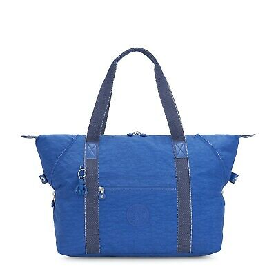 Kipling Large Travel Bag ART M Shoulder Bag WAVE BLUE SS20 RRP £96