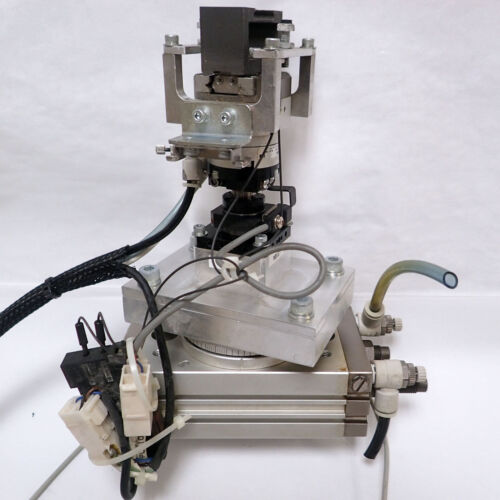 Smc Assembly - Msqb30r Rotary Table, Mdhr2-15r Gripper, D-f9pw Actuator Switches