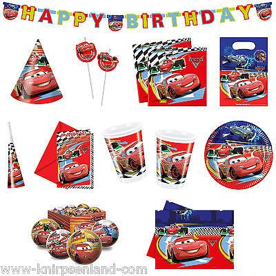 Cars Kindergeburtstag Geburtstagsdeko Geburtstag Kinder Party Becher Girlande ()