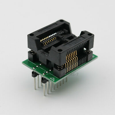 Sop16 To Dip16 300mil Pitch 1.27mm Ic Programmer Adapter For Wide Chip Socket