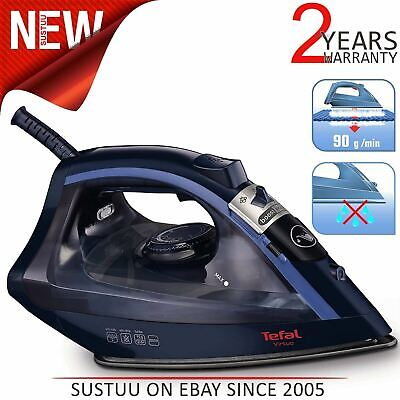 Tefal Virtuo FV1713 Steam Iron¦2000 Watt¦Non-Stick Anti-Sc