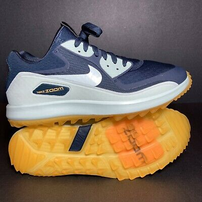 New Size 9.5 Womens Nike Air Max Zoom 90 IT Golf Shoes Navy Blue Spikeless