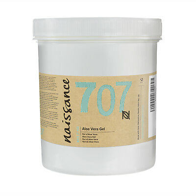 Naissance Aloe Vera Gel - 1kg / 1 Kilo - Feuchtigkeitspflege parfümfrei vegan