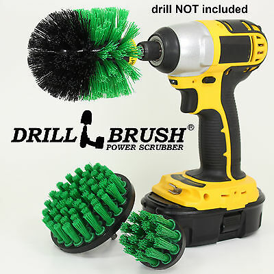 Electric Rotary Cleaning Brush Kit for Tub, Tile and Grout, Sinks and Porcelain