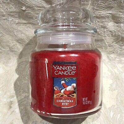 Yankee Candle CHRISTMAS EVE MEDIUM JAR CANDLE (14.5oz)