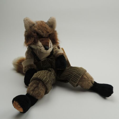 Folkmanis Brer Fox Hand Puppet Plush Retired New w Tag