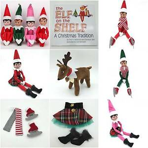 ELF ON THE SHELF - ELVES-BOOKS CLOTHES- REINDEERS IN STOCK NOW Heddon Greta Cessnock Area Preview