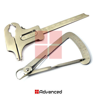 Dental Lawanson Wax Gauge Boley Tooth Measuring Vernier Caliper Orthodontic Tool