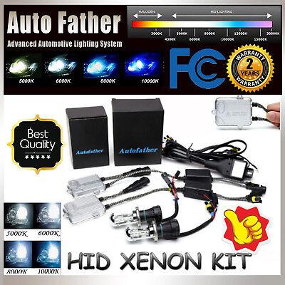 HID Xenon 55W Car Conversion H4 9003 HB2 Kit Headlight HiLo Dual Beam All Color