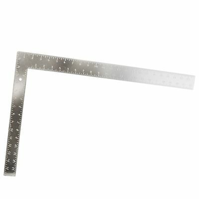 "24"" x 16"" Aluminium Set Speed Square Rafter Metric Imperial Roofing Rule TE841"