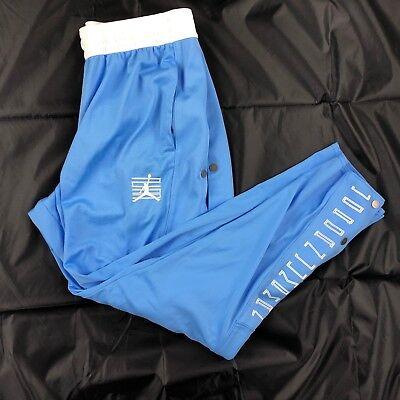 f87db7326d8a Nike Air Jordan 11 XI Tearaway Pants Sweatpants Blue White AH1551-412 Men