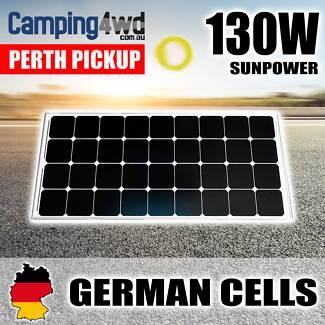 130w solar Panel caravan power battery charger 12v mono generator