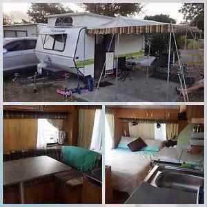Viscount 15ft poptop caravan with bunks Cleveland Redland Area Preview