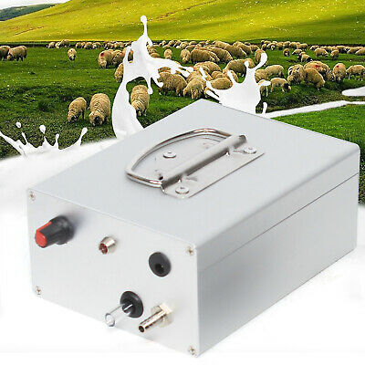 Portable Electric Milking Machine Vacuum Pump For Farm Cow Sheep Goat Milker
