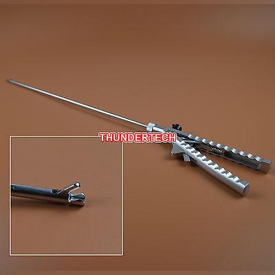 5mmx330mm Self Righting Tip Needle Holder Laparoscopy Laparoscopic Endoscopy