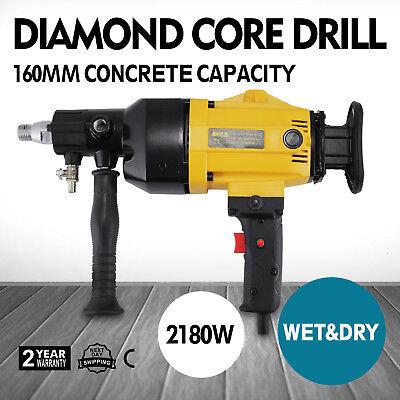 """6"""" Diamond Core Drill Concrete Drilling Machine Heavy Duty Engineering 2180w"""