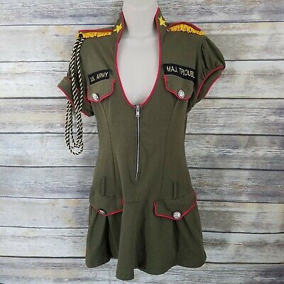 Mystery House Size M Major Trouble Armed Forces Costume Cosplay Roleplay - Armed Forces Costumes