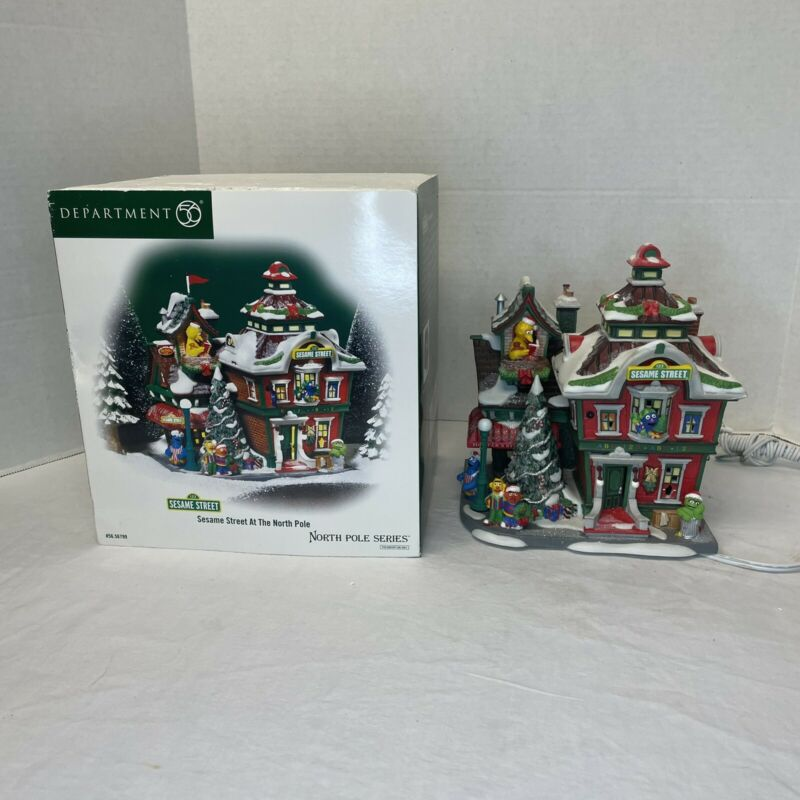 Dept 56 North Pole Sesame Street At The North Pole 56.56799