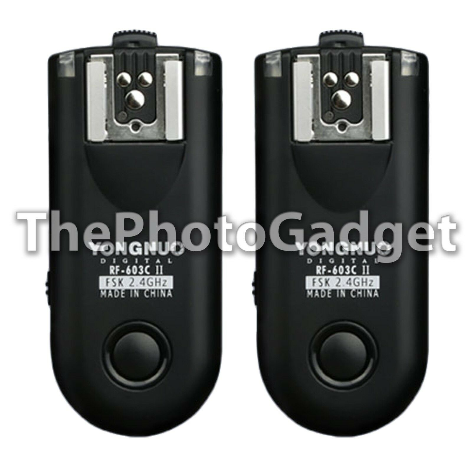 Yongnuo Rf-603 Ii 2.4ghz Radio Wireless Remote Flash Trigger N3 For Nikon Cam Us