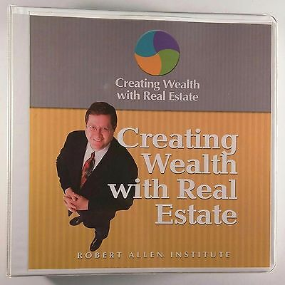 Creating Wealth With Real Estate Robert Allen Institute Folder