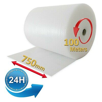 750 X 100m Small Bubble Rolls Cushioning Quality Bubble 100 Meters Long Roll