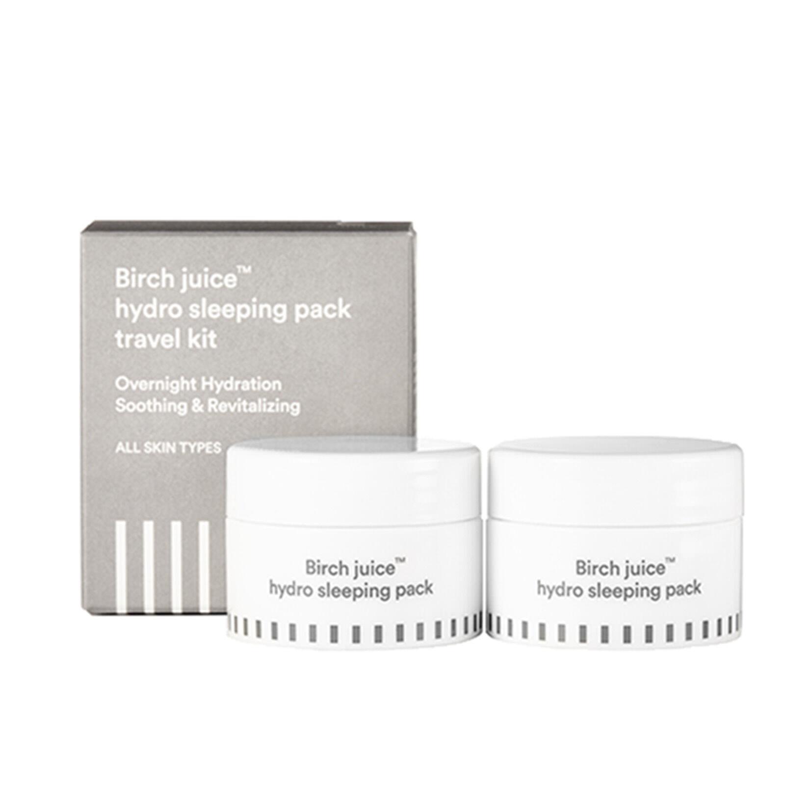 ENATURE Birch juice™ hydro sleeping pack travel Kit Korean K Cosmetic Beauty