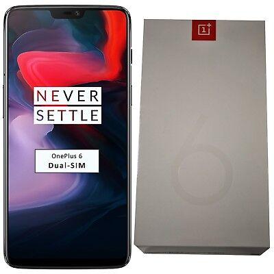 New OnePlus 6 A6003 256GB Dual-SIM Midnight Black Factory Unlocked 4G/LTE OEM