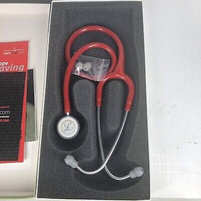 3m Littmann Classic Ii Pediatric Stethoscope Red New Open Box