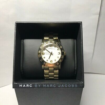 NEW MARC JACOBS MBM3056 LADIES GOLD AMY WATCH