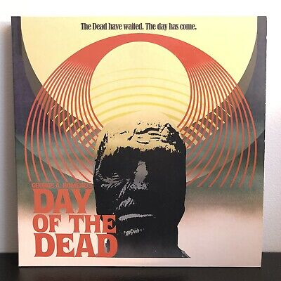 Colors Of Day Of The Dead (Day of the Dead Soundtrack Clear and Red Colored Vinyl Record 2xLP)