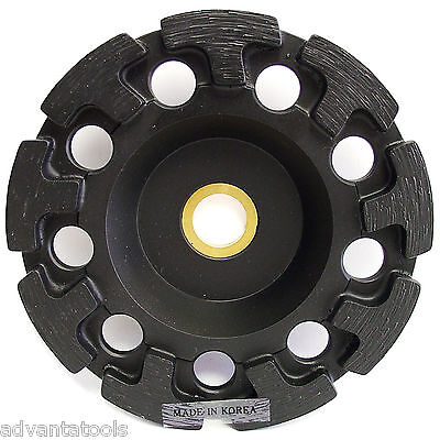 4.5 Premium T-seg Concrete Diamond Grinding Cup Wheel For Angle Grinder